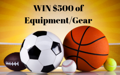 Win $500 worth of Equipment/Gear